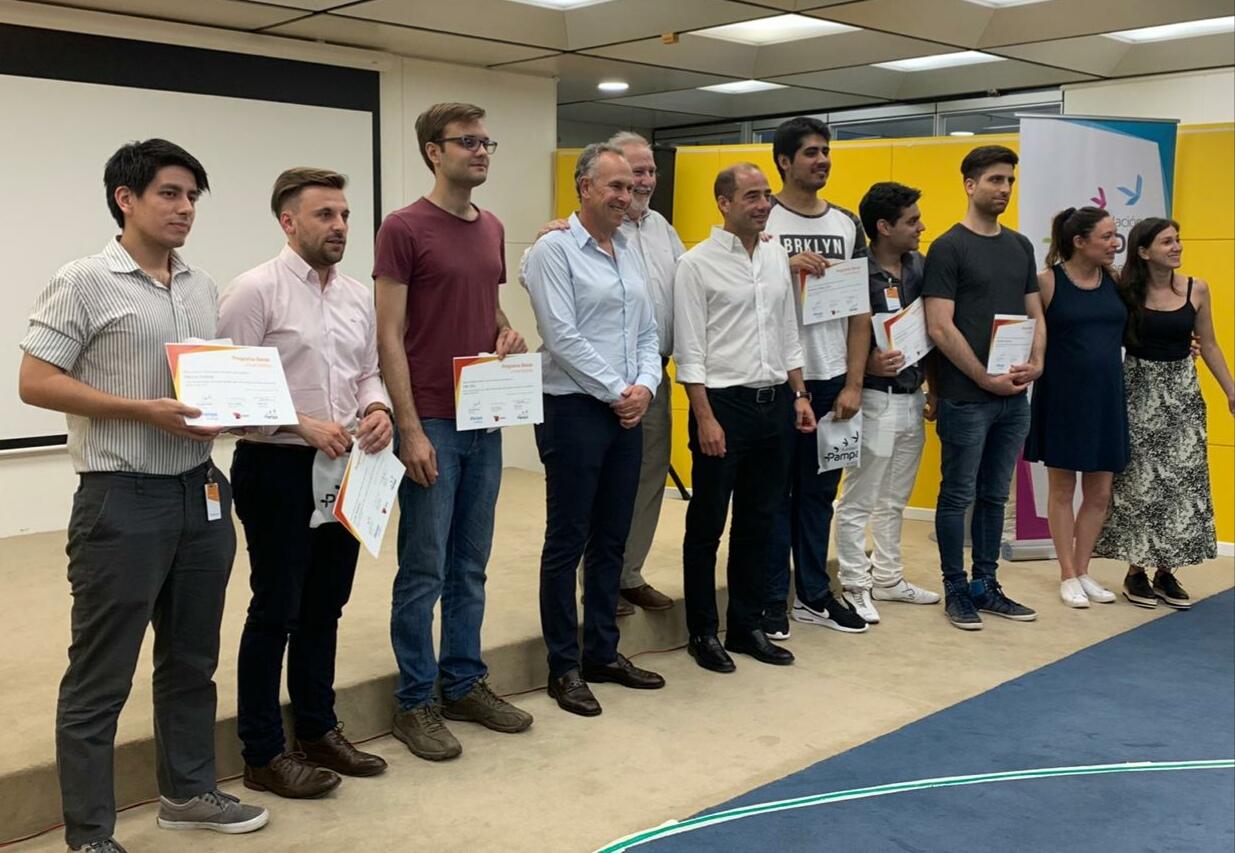 Becarios universitarios de la Fundación Pampa 2019