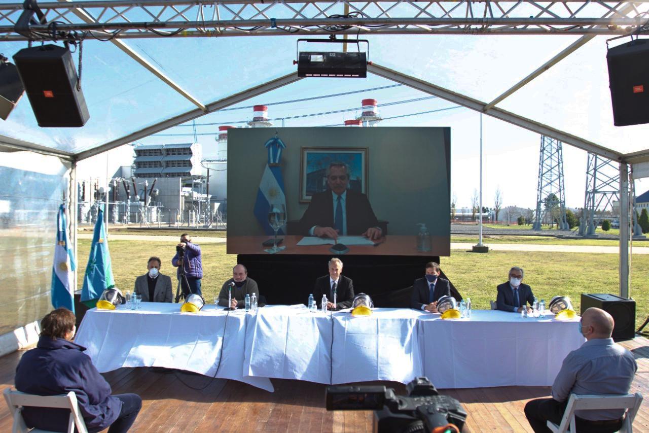 Central-Termoeléctrica-Genelba-Inauguración-Pampa-Energía-Alberto-Fernandez-Marcelo-Mindlin